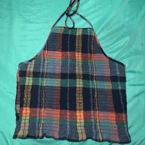 American Eagle fitted halter .